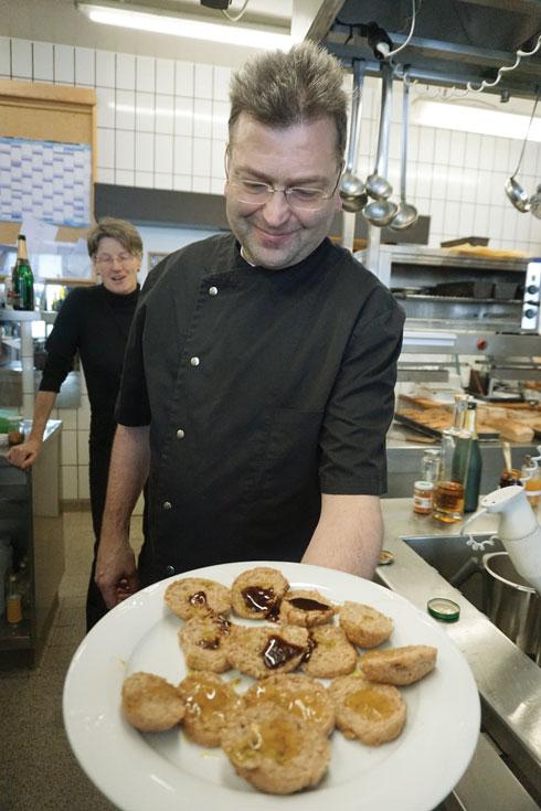 שלוש שעות של חוויה קולינרית. במטבח עם השף ג'וזף פרנבאך (צילום: צביקה בורג)
