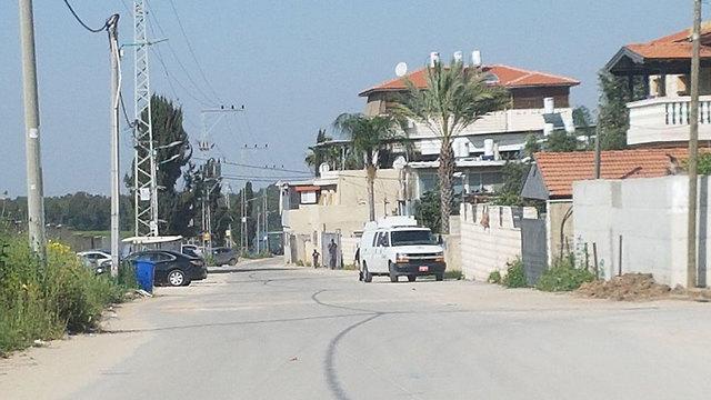 זירה זירת רצח לוד ירי שכונה פרדס שניר  ()