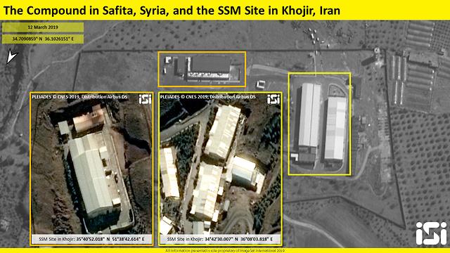 Comparison to Iran site