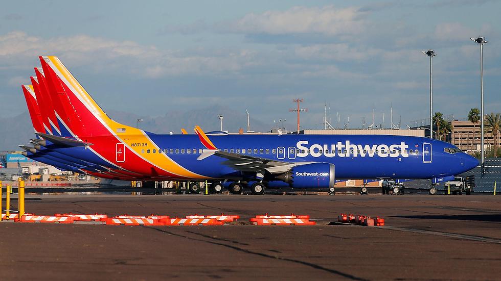 מטוס בואינג 737 MAX 8 דגם התרסקות התרסק מטוסים אריזונה ארצות הברית (צילום: gettyimages)