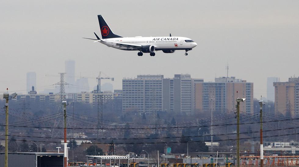 מטוס בואינג 737 MAX 8 דגם התרסקות התרסק מטוסים טורונטו קנדה (צילום: gettyimages)