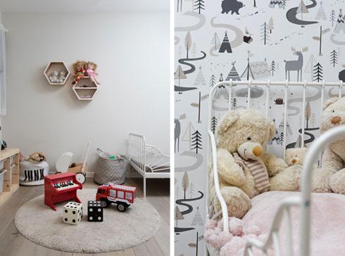 הצצה לחדר הילדים (צילום: שירן כרמל)