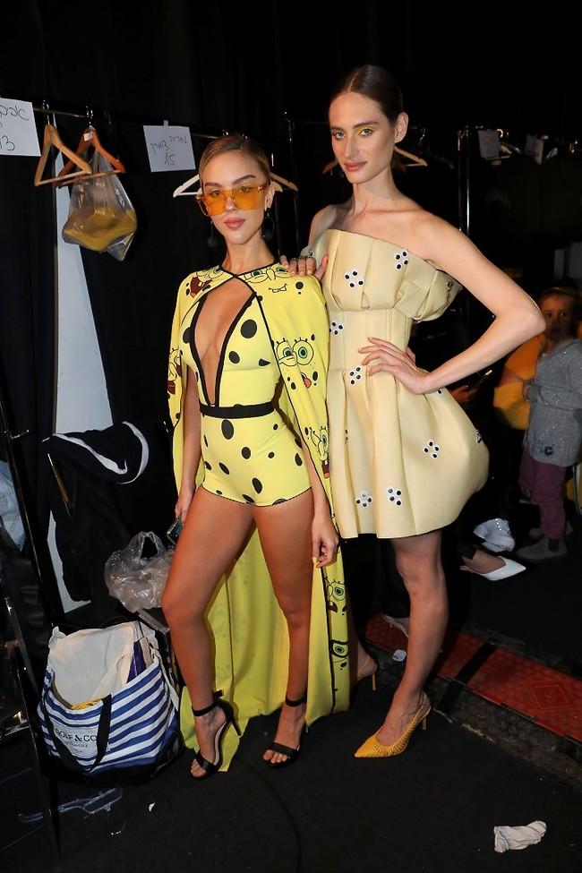 צהוב עולה! נועפ פרסוט ומריה דומרק (צילום: רפי דלויה)