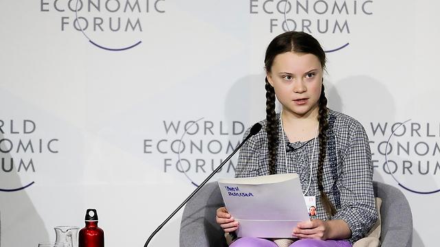 גרטה טונברג נערה מ שבדיה מועמדת ל פרס נובל ל שלום (צילום: AP)