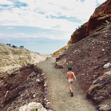 המסלול בנחל דוד