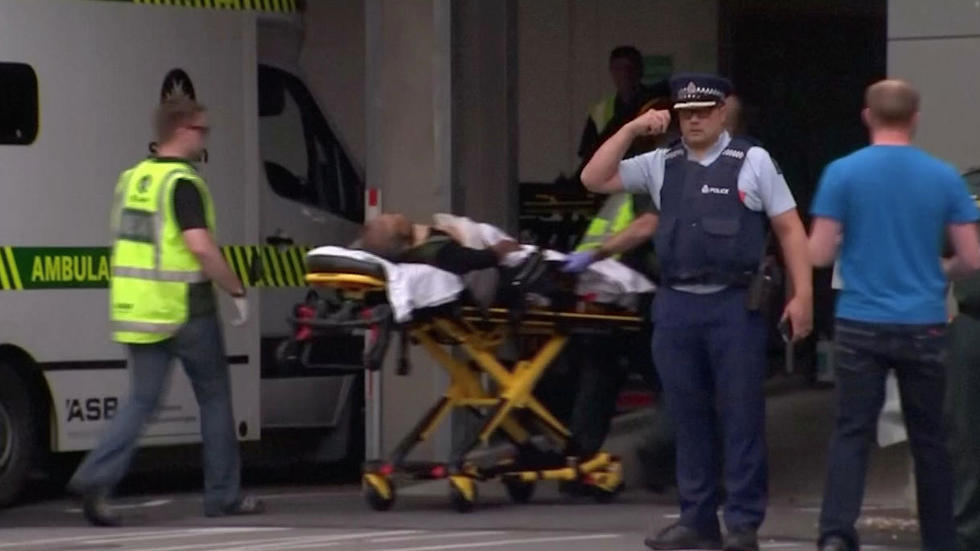 ירי במסגד בניו זילנד  (צילום: רויטרס)