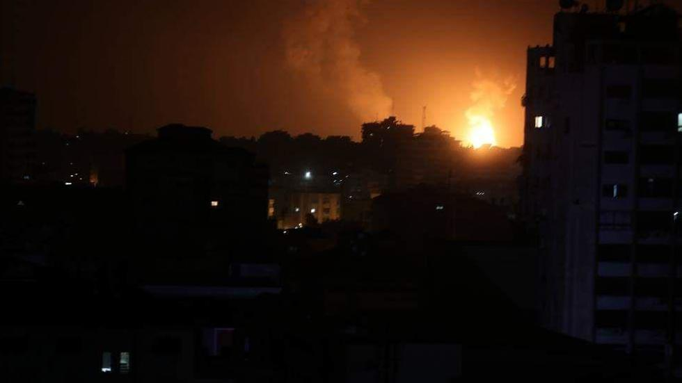 IDF attacks in the Gaza Strip