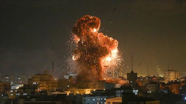 Сектор Газы под обстрелом