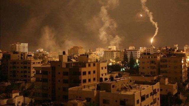 IDF pounds Gaza targets