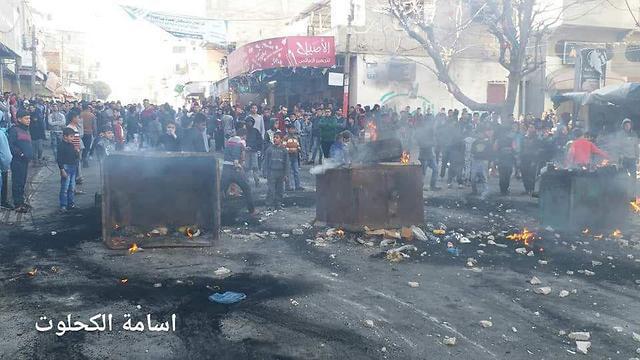 Economic Protests in Gaza
