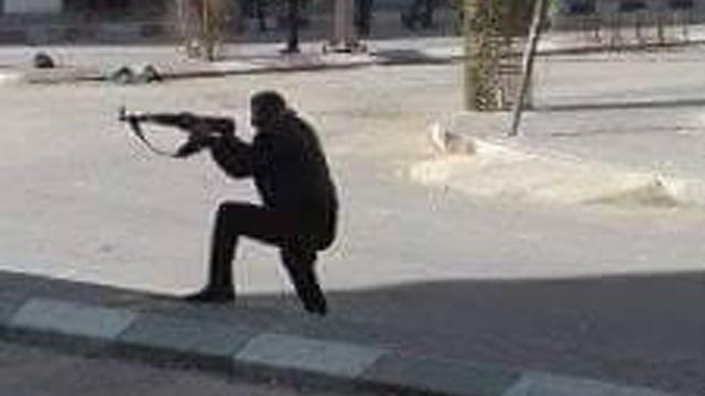 Hamas operative shoots at protesters