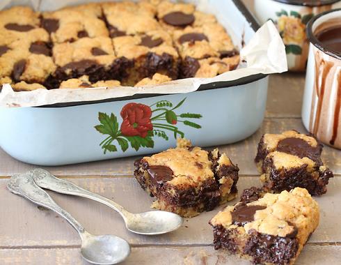 חיתוכיות שוקולד צ'יפס (צילום, סגנון והכנה: אסנת לסטר)