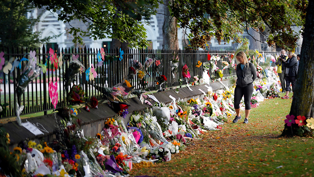 Memorial for the victims of the massacre (Photo: AP)
