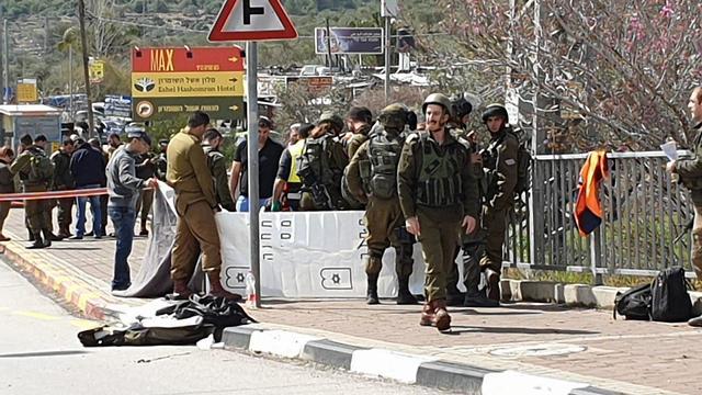 Scene of the attack (Photo: Yariv Katz)