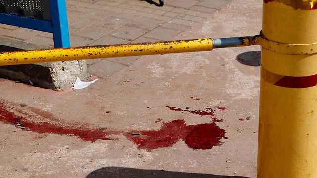 זירת הפיגוע (צילום: AFP)