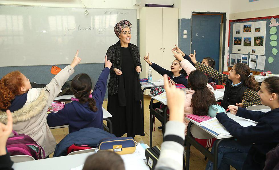 המורה איטל לוי (צילום: אלעד גרשגורן)