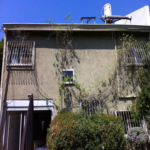 הבית לפני השיפוץ (צילום: ארכ׳ עדי וינברג - סטודיו ארביג׳אז)