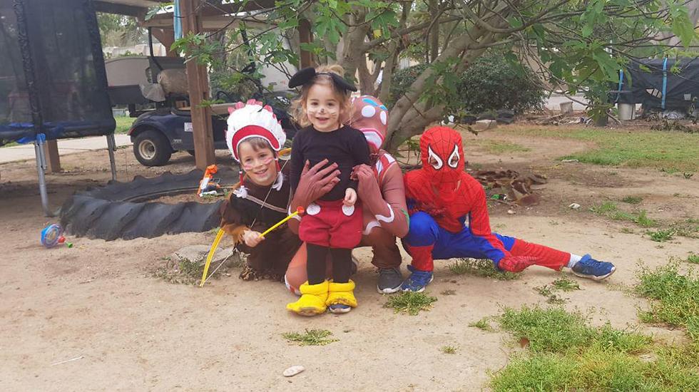Дети в кибyце Нирим