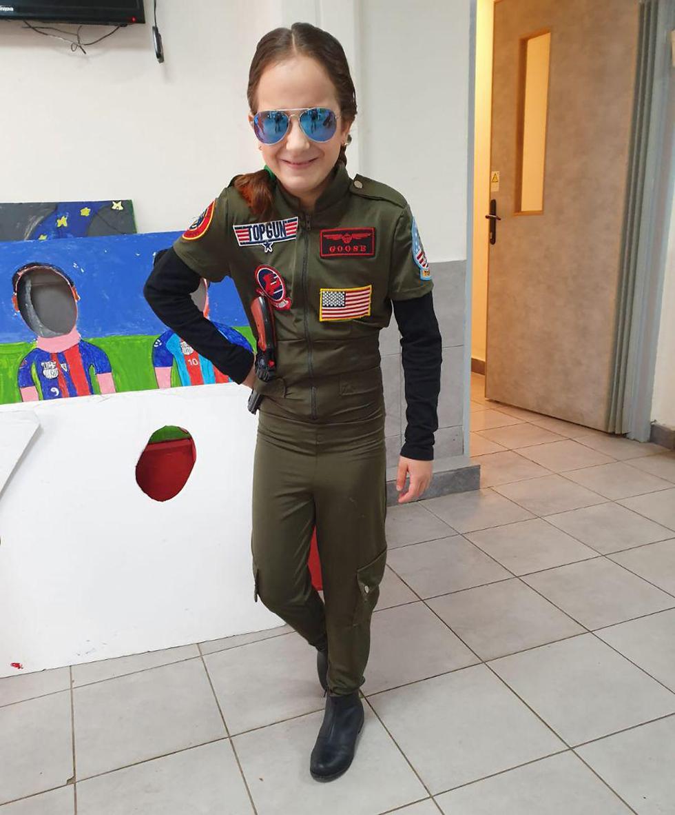 Боевая летчица из Герцлии