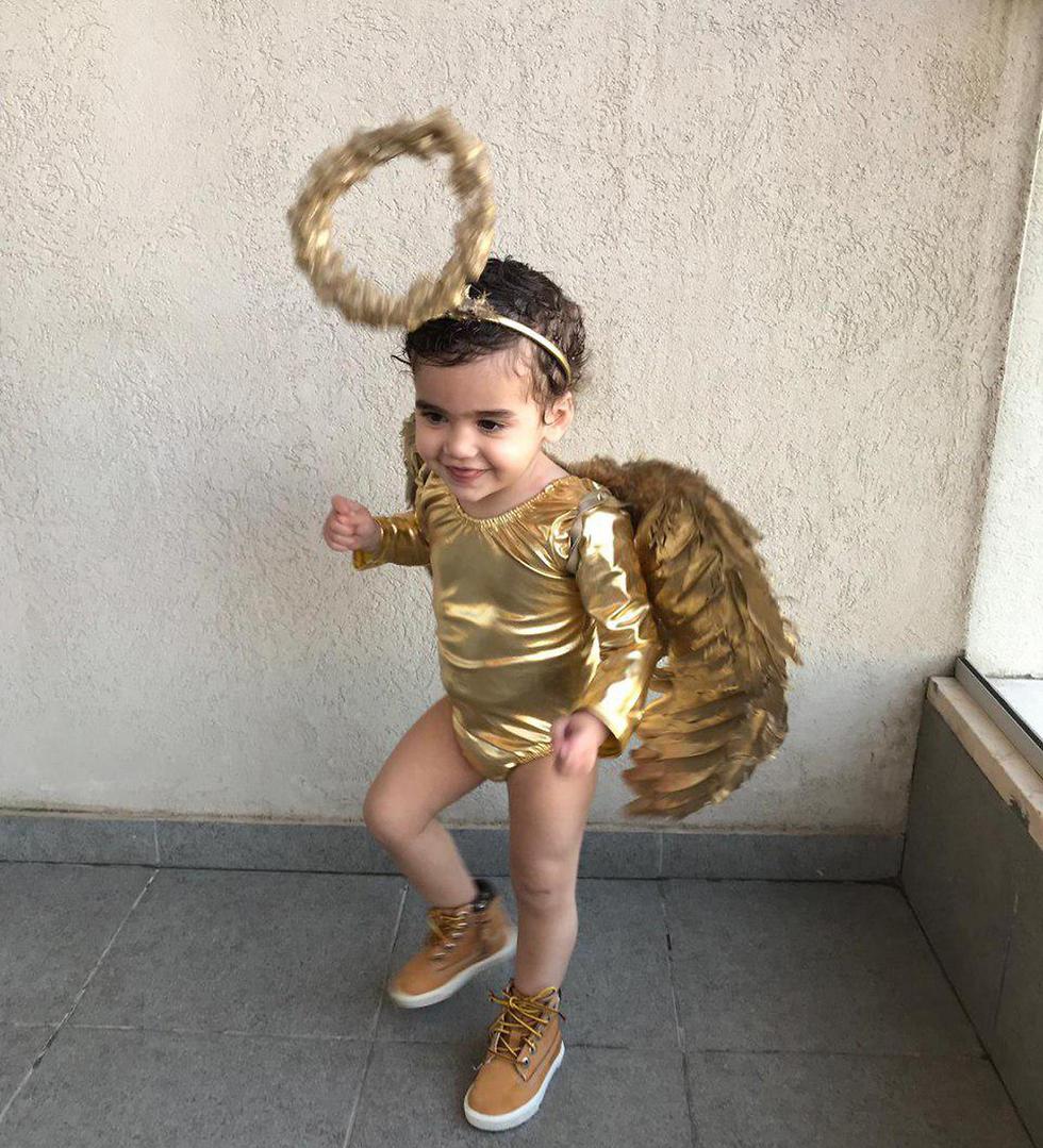 אלי חנוכה בת שנה וארבעה חודשים, מלאכית מ רמת גן (צילום: רינת חנוכה)