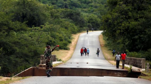 סופה  סופת ציקלון אפריקה זימבבווה צ'ימנימאני (צילום: רויטרס)