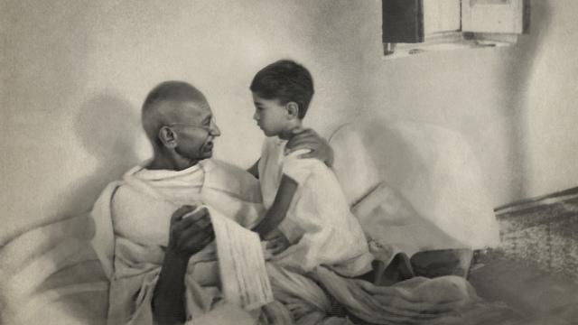 Arun and Mohandas Gandhi (Photo: Courtesy)
