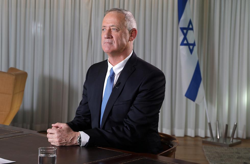 בני גנץ בראיון ל ynet (צילום: דנה קופל)
