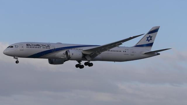 מטוס אל על בואינג 787 (צילום: דני שדה)