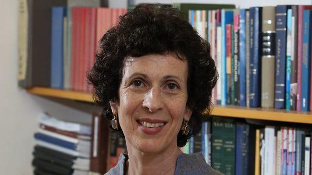 פרופ' דפנה לוינסון-זמיר (צילום: באדיבות האוניברסיטה העברית)