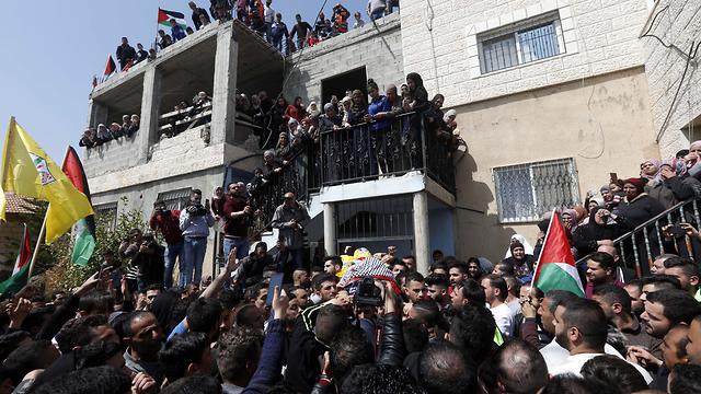 Ahmad Jamal Manasra's funeral  (Photo: EPA)