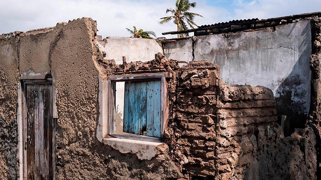 נזקי סופת הציקלון במוזמביק (צילום: AP)