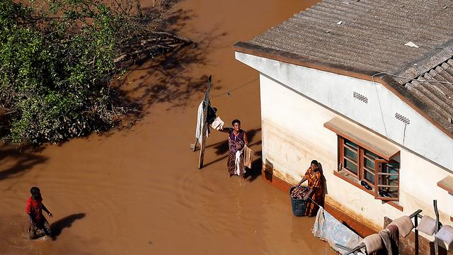 נזקי סופת הציקלון במוזמביק (צילום: רויטרס)