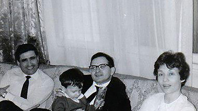 With his family (Wikipedia)