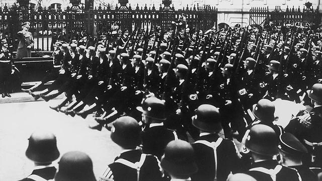 Nazi SS troops