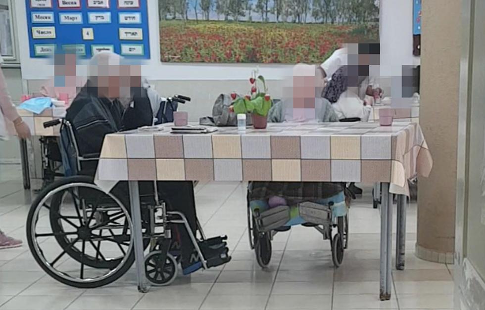 קשישים בבית אבות בלוד ()