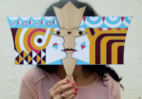 ערכת יצירה למנהג החדש והפמיניסטי של הנפת דגל ושתי ואסתר (צילום: סטודיו ארמדילו)