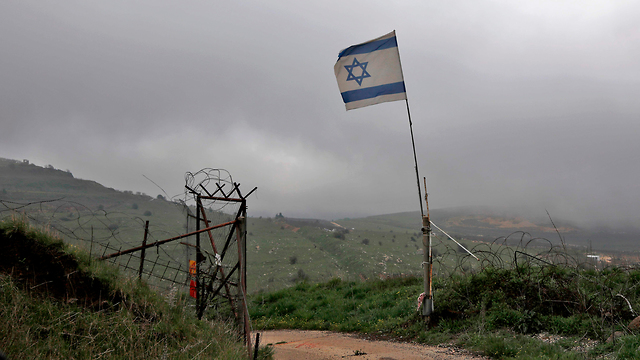 The Golan Heights, recognized by Trump as under Israeli sovereignty late March (Photo: AFP)