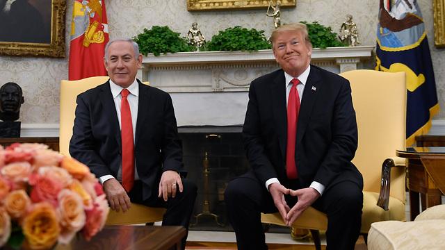 בנימין נתניהו פגישה עם נשיא ארה