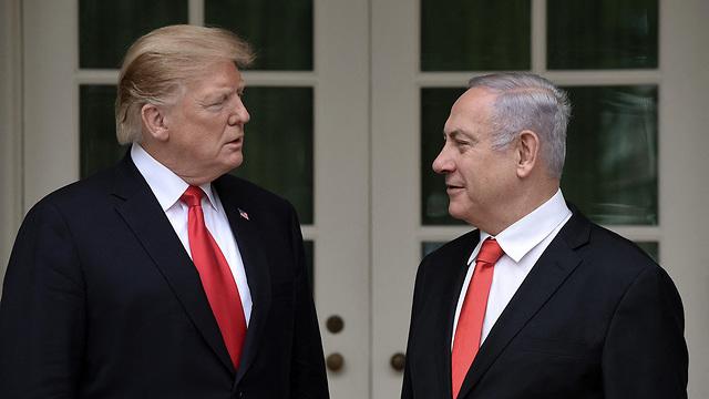 President Trump and Prime Minister Netanyahu (Photo: MCT)