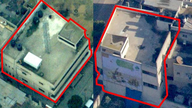 Здесь распологался штаб ХАМАСа