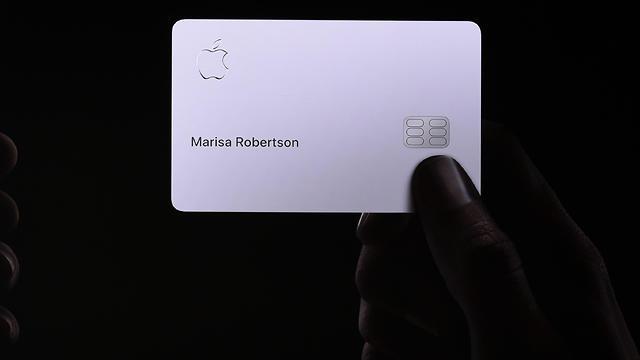 אפל פיי כרטיס אשראי (צילום: AFP)