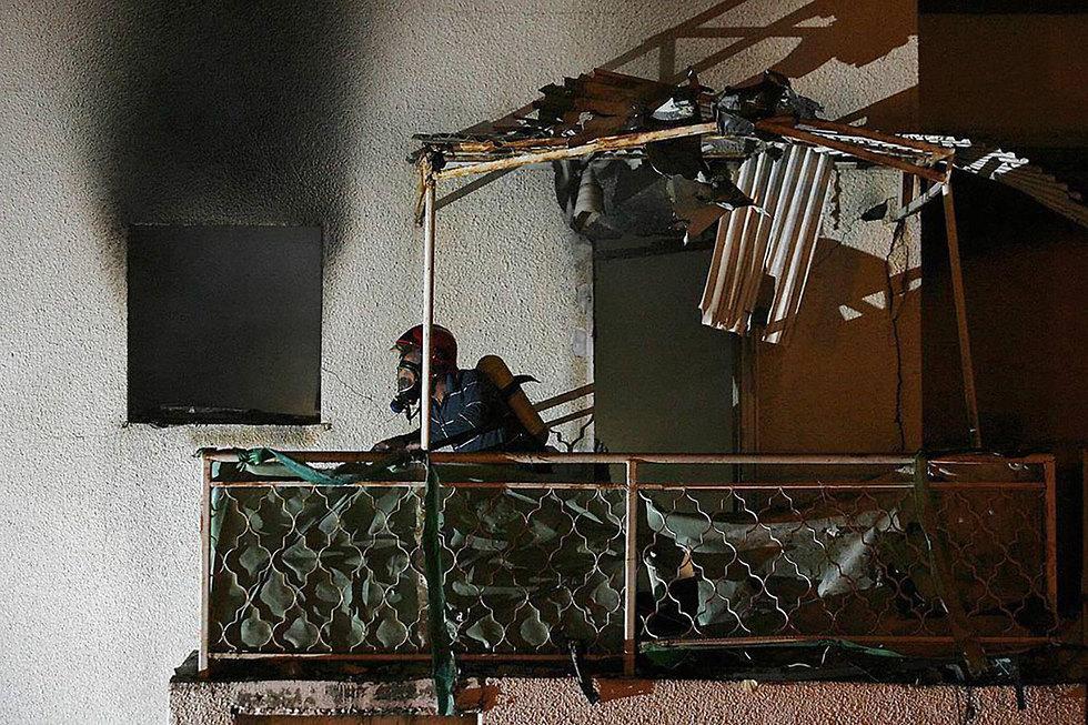 Ракета попал в дом в Сдероте