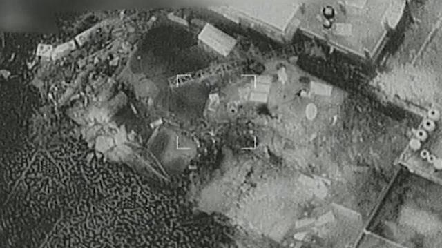 IAF attacks Hamas compounds in Gaza (Photo: IDF Spokesperson's Unit)