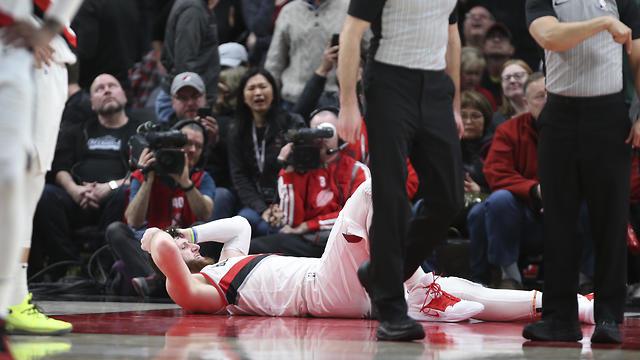 יוסוף נורקיץ' פורטלנד NBA (צילום: AP)
