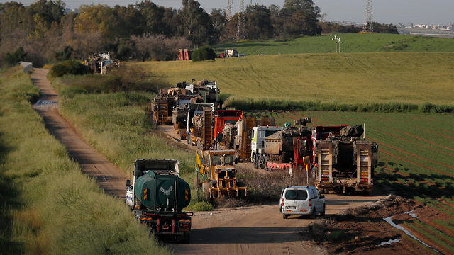 IDF troops along the Gaza border (Photo: EPA)