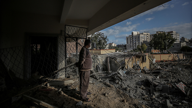 Газа после удара израильских ВВС. Фото: EPA