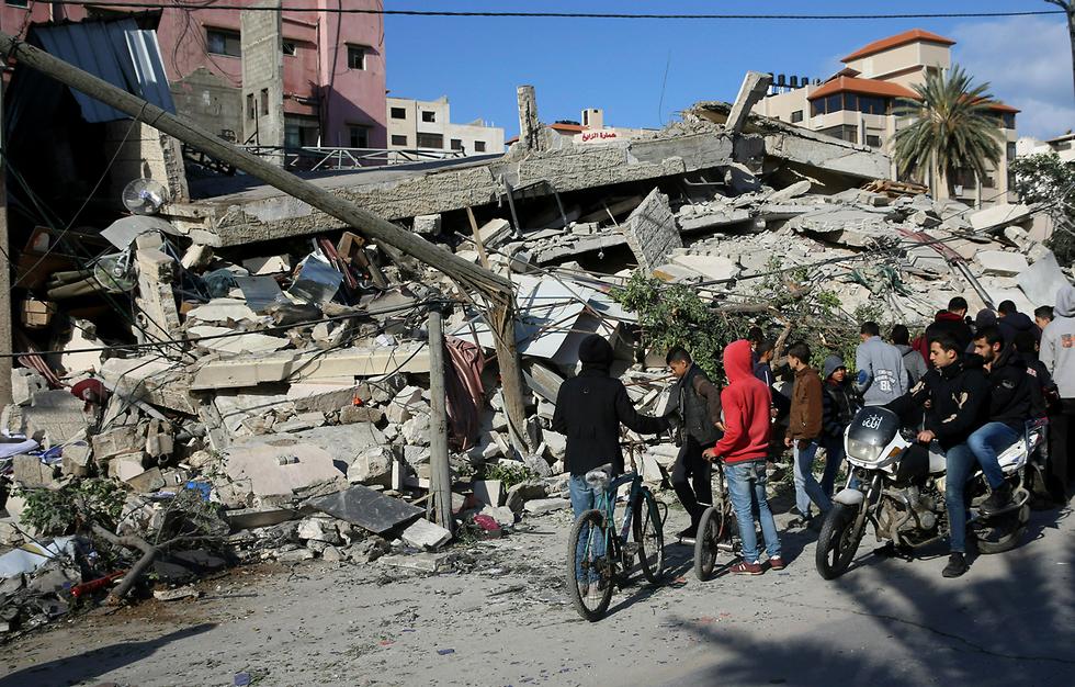 Разрушения после удара ЦАХАЛа по Газе. Фото: АР