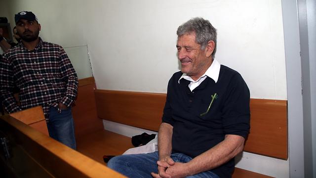 מיקי גנור בדיון בבית משפט השלום בראשל