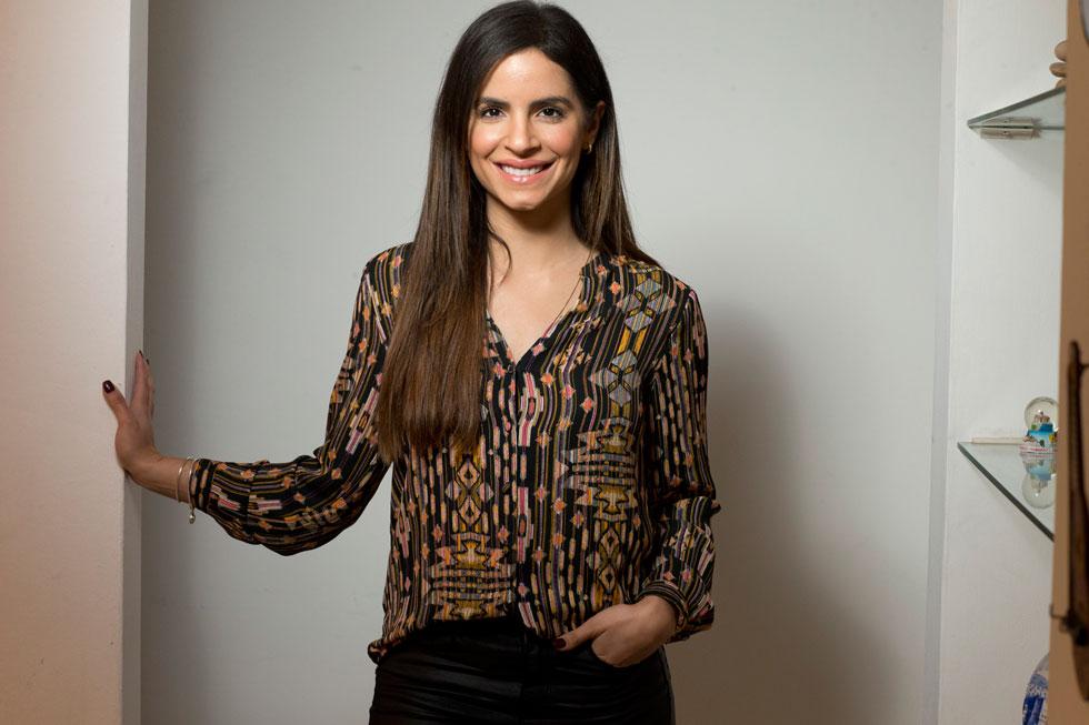 """""""אני פלסטינית-ישראלית. אזרחית שתי המדינות ואזרחית העולם"""". לונא מנסור (26), שחקנית, דוגמנית ומובילת קמפיין True Match של לוריאל פריז בישראל (צילום: תומריקו)"""