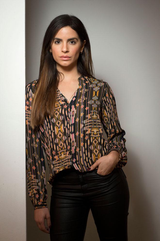 """""""תואר מלכת היופי נתן לי קמפיינים, אבל רק בחברה הערבית. הלכתי להרבה אודישנים לסרטים וסדרות, ולא התקבלתי. לא התבאסתי מזה יותר מדי. אמרתי לעצמי שאקח את זה לאט-לאט ולא בקפיצת חמש מדרגות"""" (צילום: תומריקו)"""